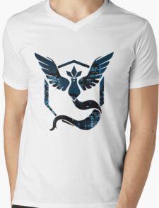 Team Mystic City Lights Mens V-Neck T-Shirt