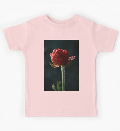 Spring time bloom, with lighting affects  Kids Tee