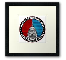 Eradicate The Muslim Brotherhood Framed Print