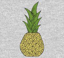 Pop Art Pineapple Kids Tee