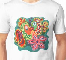 Fishes in love. Unisex T-Shirt
