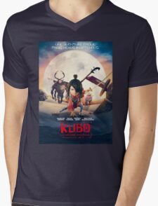 kubo and the two strings Mens V-Neck T-Shirt