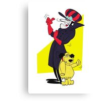 Dastardly and Muttley Happy as Always Canvas Print