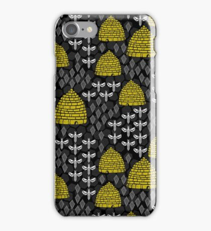 Bees and Hives by Andrea Lauren iPhone Case/Skin