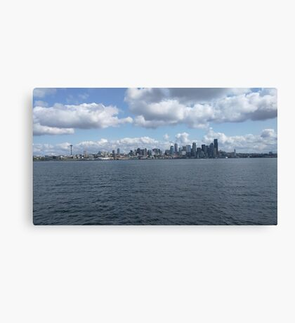 Seattle - WA landscape Canvas Print