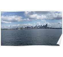 Seattle - WA landscape Poster