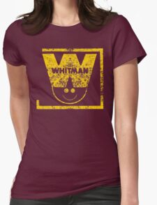 Whitman Comics Retro Logo Womens Fitted T-Shirt