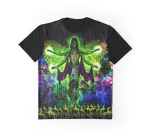 Rainbow Godess of Cosmic Life Graphic T-Shirt