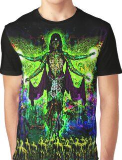 Rainbow Godess of Cosmic Life Graphic T-Shirt