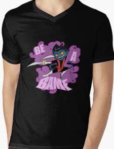 Be A BAMF Mens V-Neck T-Shirt