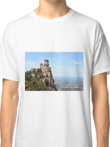 San Marino tower, landscape view. Classic T-Shirt