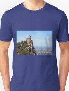 San Marino tower, landscape view. Unisex T-Shirt