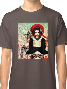 Geisha antique japan Classic T-Shirt