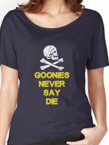 Goonies distressed Women's Relaxed Fit T-Shirt