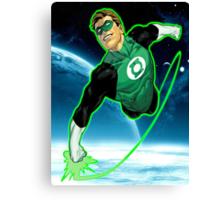 Green Lantern, Hal Jordan! Canvas Print