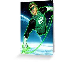 Green Lantern, Hal Jordan! Greeting Card