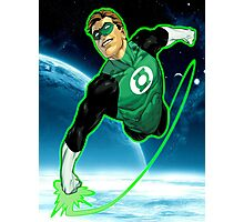 Green Lantern, Hal Jordan! Photographic Print
