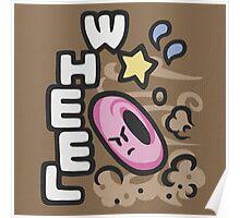 Kirby Wheel Poster