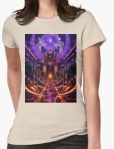 """""""The Key is within"""" Womens Fitted T-Shirt"""