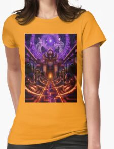 """The Key is within"" Womens Fitted T-Shirt"