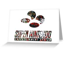 SNES Roses Greeting Card