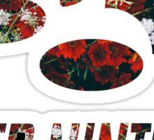 SNES Roses Sticker