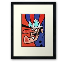 "Dastardly ""I will catch you"" Framed Print"