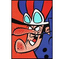 """Dastardly """"I will catch you"""" Photographic Print"""