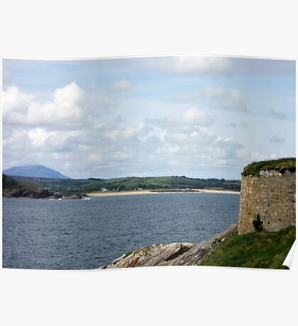 View from Dunree Fort Poster