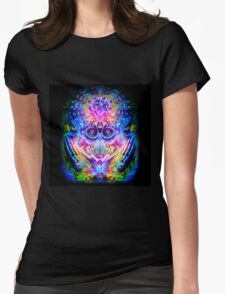 Transition to Butterfly Womens Fitted T-Shirt