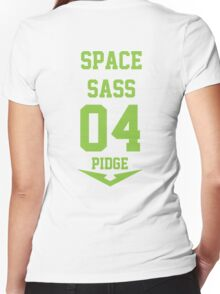 Voltron - Space Sass  Women's Fitted V-Neck T-Shirt