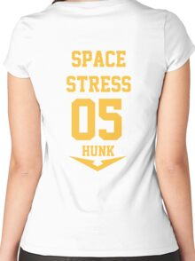 Voltron - Space Stress Women's Fitted Scoop T-Shirt