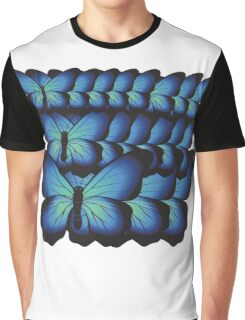 layer butterflies Graphic T-Shirt