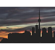 Urban Silhouettes Photographic Print