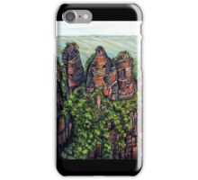 Etched in Time, Blue Mountains iPhone Case/Skin