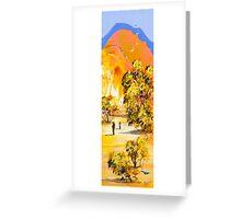 Climb any mountain Greeting Card