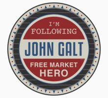 Vote President John Galt T-Shirt