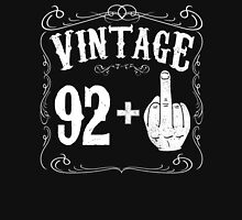 Vintage middle finger salute 93rd birthday gift funny 93 birthday 1923 Unisex T-Shirt