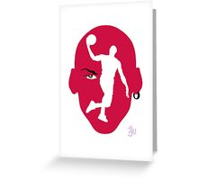 Basketball Icon All CHI2 Greeting Card