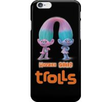 Trolls movie 2016 iPhone Case/Skin