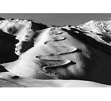 Ski Run Photographic Print