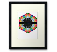 Hymn for the weekend Framed Print