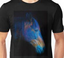 His Quiet Place II - Black Thoroughbred Percheron Unisex T-Shirt