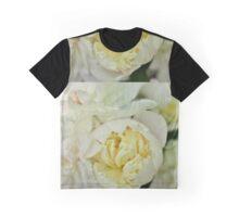 White Peony Magic Graphic T-Shirt