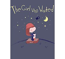 The Girl Who Waited Photographic Print
