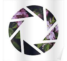 Aperture Floral Poster