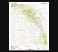 USGS TOPO Map Arizona AZ Black Diamond Peak 310490 1985 24000 Unisex T-Shirt