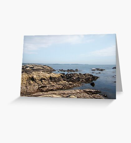 Arasaki Seashore Greeting Card