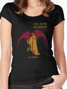 The King In Yellow Women's Fitted Scoop T-Shirt