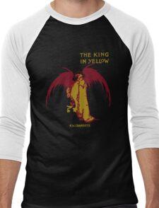 The King In Yellow Men's Baseball ¾ T-Shirt